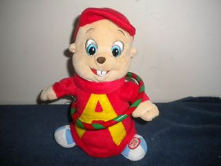 ALVIN CHIPMUNKS ANIMATED PLUSH MUSICAL HOOLA HOOP