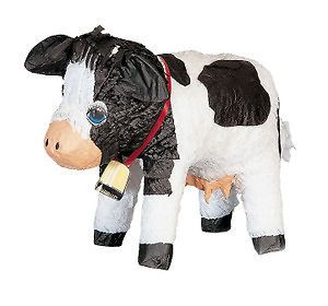 Cow Pinata   Farm Animal Themed Birthday Party Games & Supplies