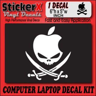 APPLE HACKINTOSH SWORDS LOGO Computer Mod Decal Sticker
