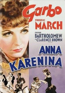 Vintage Old Movie Poster Anna Karenina 1935 Print Art Canvas A4 A3 A2