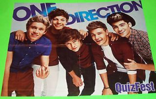 NEW   (1D) One Direction 16 x 20 Poster b/w Zendaya Coleman + Bella
