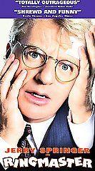 Ringmaster (1999, VHS) JERRY SPRINGER,