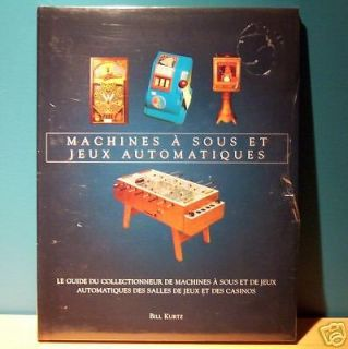 SOUS French collectible illustrated BOOK vintage SLOT MACHINE antique