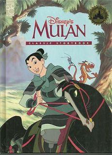 Mulan Disney Classic Series Hardcover Book