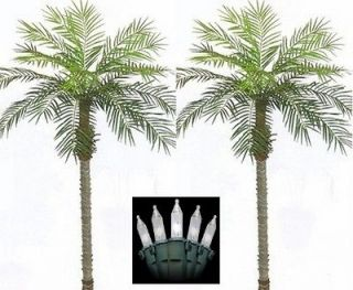 ARTIFICIAL 7 PHOENIX PALM TREE PLANT POOL ARRANGENENT WITH