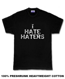 Hate Haters Mayweather Floyd boxing T Shirt