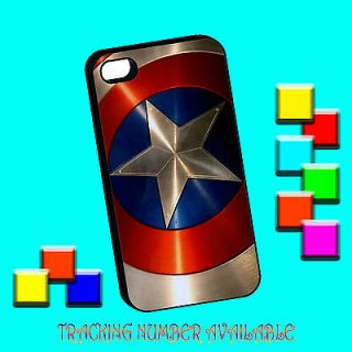 america shield first avengers marvel comic black iphone 4 4s case