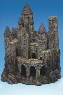 Plax Age of Magical Castle Fish Tank Aquarium Decoration Ornaments