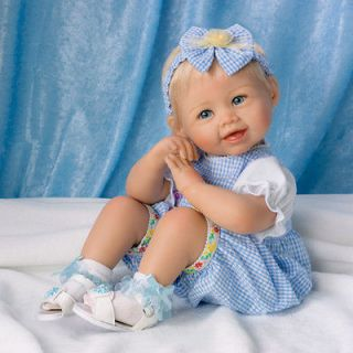Ashton Drake Madison Poseable Lifelike 18 Baby Girl Doll By Bonnie