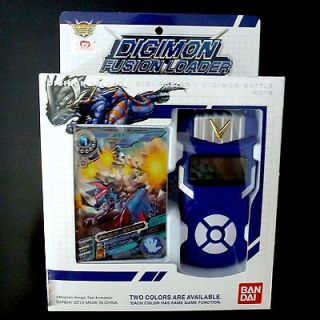 New Digimon Fusion Xros Loader digivice in English from Bandai Asia