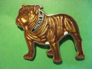 MACK Bulldog   commercial truck   hat pin, lapel pin, badge