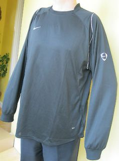 Nike football jersey sport teamwear black XLarge chest size 45 47