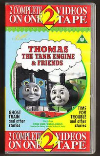 THE TANK ENGINE   TIME FOR TROUBLE & GHOST TRAIN   VHS PAL (UK) VIDEO