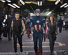 Avengers Assemble Chris Evans Captain America Black Widow Hawkeye 8x10