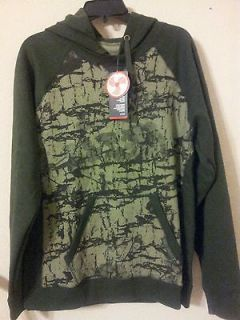 NWT Womens Under Armour Green Camo Hoodie Sz L Last one!