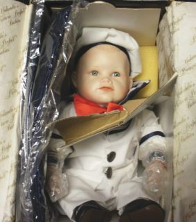 Ashton Drake Galleries Knowles Collectible Porcelain Doll Matthew