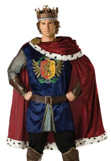Medieval King Arthur Adult Renaissance Fair Costume