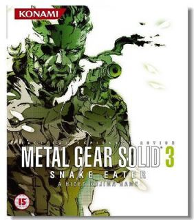 Metal Gear Solid 3 MGS3 MGS Snake Game Silk Poster 28x24 inch