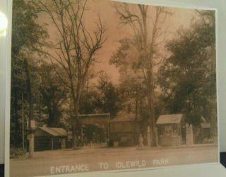Amusement Park Ligonier Pa. Gulf Gas Pumps Lincoln Highway Poster