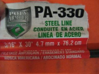 Poly Armour American Grease Stick 3/16 x 30 Brake Line #PA 330 Auto
