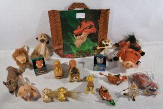 Disney Lion King Simba kovu kiara finger nala puppet toys figures B