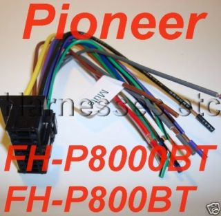 PIONEER Wire Harness PLUG FH P8000BT FH P800BT NEW