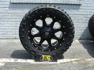 Fuel Offroad Boost black 20 20x9 Nitto Trail Grappler 295/55R20 33