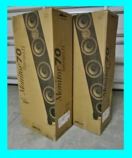 POLK AUDIO MONITOR 70 TOWER FLOOR STANDING SPEAKERS ★ SERIES II