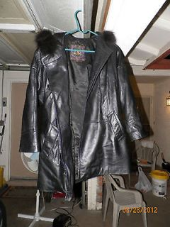 leather hood in Womens Clothing