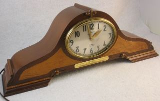 Westminster Chime Mantel Clock Greyhound Bus Lines 20 Year Award Clock