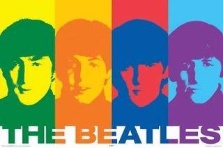 The Beatles John Lennon Rainbow Cover Poster
