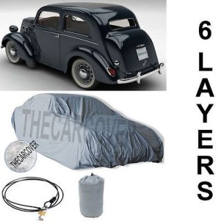 Ford Anglia 5 Layer Car Cover Fitted In Out door Water Proof Rain Snow