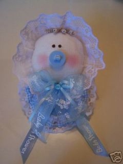 Its A Boy, Baby Shower Corsage. Big Little Baby