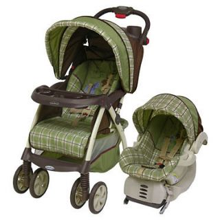 New Baby Trend Nambia Infant Safety Travel System Stroller + Car Sest