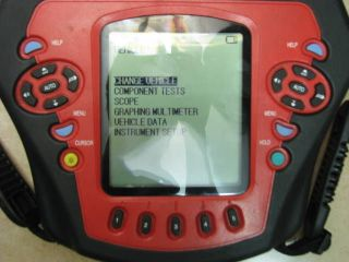 OTC 3840 SCOPE DIAGNOSTIC for parts/ can light up but gone soon