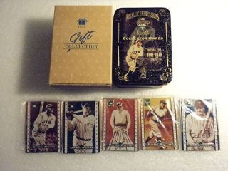 Babe Ruth Avon Gift Collectors Metallic Cards