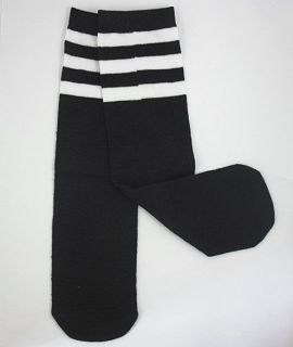Baby Toddler Boy Girl Leg Warmers Leggings Tube Socks,White Stripes