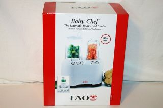 Fao Schwarz Baby Chef Ultimate Food Processor Steams, Chops, Warms