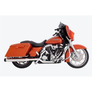 Racing slip on Mufflers for 2008 2013 HD Touring W/extra Baffles
