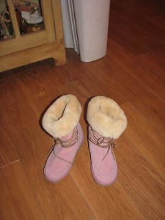 Womens Pink Ugg Boots 5207  Size 6 7