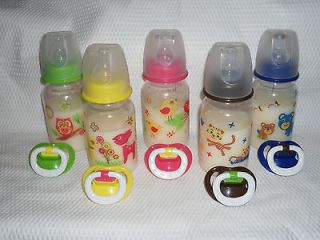 Baby Think it Over g6 Custom 5oz Fake Milk Formula Bottle n Pacifier