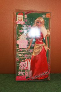 Barbie Doll Holiday Wishes 2009 Mattel