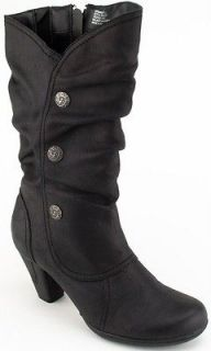 Bare Traps Shoes, Womens Armandy Slouchy Boots Black