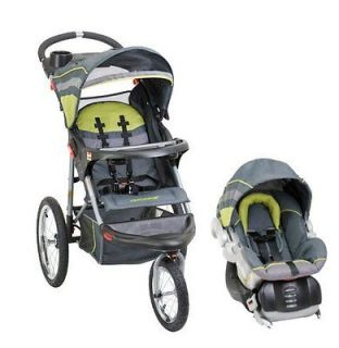 Baby Trend Expedition Swivel Jogging Stroller & Infant Car Seat Travel