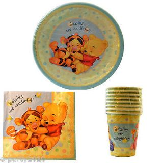 Winnie the POOH BABY SHOWER Party Supplies ~ Pick 1 or Many to Create
