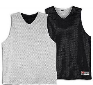Nike Black Reversible Basketball Jersey Practice Mesh Xl