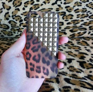 studs Leopard Hard Case Cover for iPhone 5s Case iPhone 5s Case iPhone