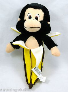 monkey banana stuffed animal