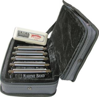 MARINE BAND HARMONICA in Musical Instruments & Gear