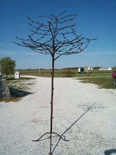 98 Wrought Iron Metal Tree w/ Branches Your Garden or Patio   Woodsy